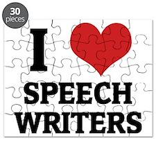 SPEECH WRITERS Puzzle