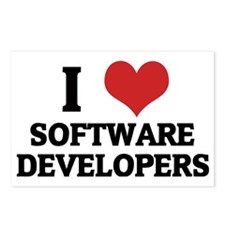 SOFTWARE DEVELOPERS Postcards (Package of 8)