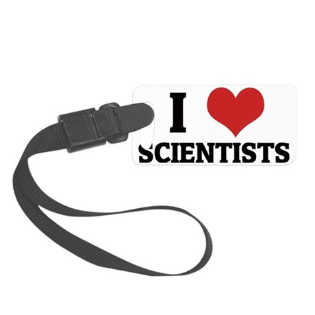 SCIENTISTS Small Luggage Tag