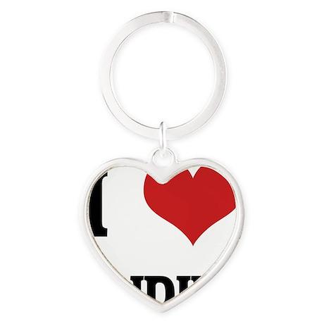 INDIE Heart Keychain