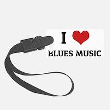 BLUES MUSIC Luggage Tag