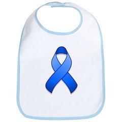 Blue Awareness Ribbon Bib
