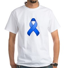 Blue Awareness Ribbon Shirt
