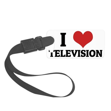 TELEVISION1 Small Luggage Tag