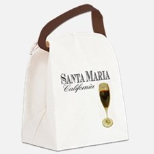 Santa Maria Wine Canvas Lunch Bag