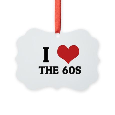 THE 60S Picture Ornament