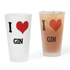 GIN Drinking Glass