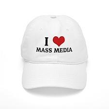 MASS MEDIA Baseball Baseball Cap