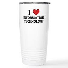 INFORMATION TECHNOLOGY Travel Mug
