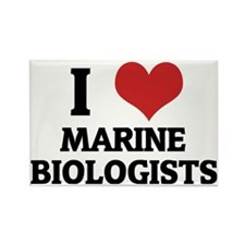 MARINE BIOLOGISTS Rectangle Magnet