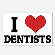 DENTISTS Postcards (Package of 8)