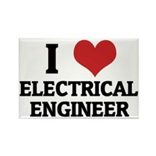 ELECTRICAL ENGINEER Rectangle Magnet