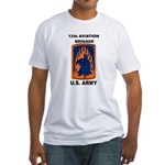 12TH AVIATION BRIGADE Fitted T-Shirt