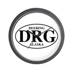 Deering Wall Clock