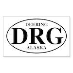 Deering Rectangle Sticker