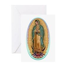 Virgin Guadalupe Greeting Card