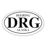 Deering Oval Sticker