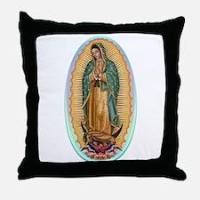 Virgin Guadalupe Throw Pillow