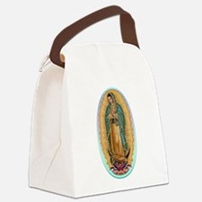 Virgin Guadalupe Canvas Lunch Bag
