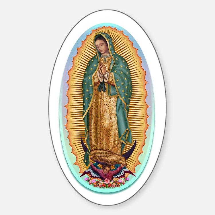 Virgin Guadalupe Decal