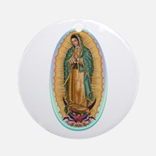 Virgin Guadalupe Ornament (Round)
