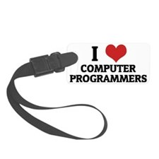 COMPUTER PROGRAMMERS Luggage Tag