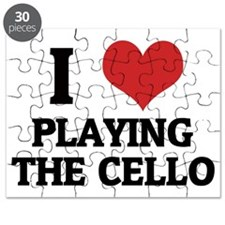 PLAYING THE CELLO Puzzle