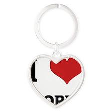 CORN Heart Keychain