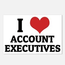 ACCOUNT EXECUTIVES Postcards (Package of 8)