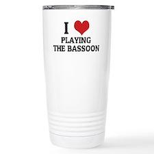 PLAYING THE BASSOON Travel Mug