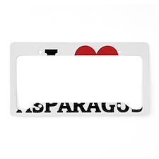 ASPARAGUS License Plate Holder