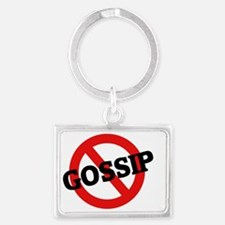 GOSSIP1 Landscape Keychain
