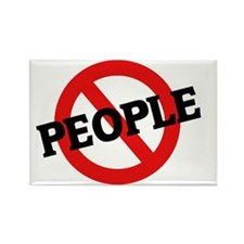 PEOPLE2 Rectangle Magnet