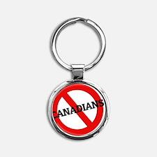 CANADIANS2 Round Keychain