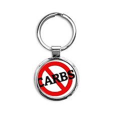 CARBS11 Round Keychain