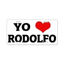 RODOLFO Aluminum License Plate