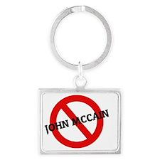 JOHN MCCAIN4 Landscape Keychain
