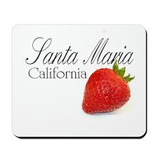 Santa Maria Strawberries Mousepad