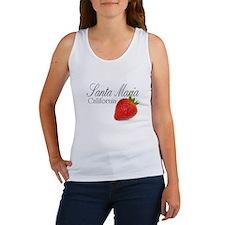 Santa Maria Strawberries Tank Top