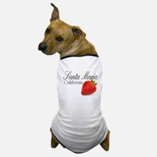 Santa Maria Strawberries Dog T-Shirt