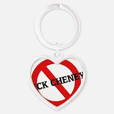 DICK CHENEY4 Heart Keychain