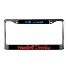 Worlds Greatest Director Black License Plate Frame