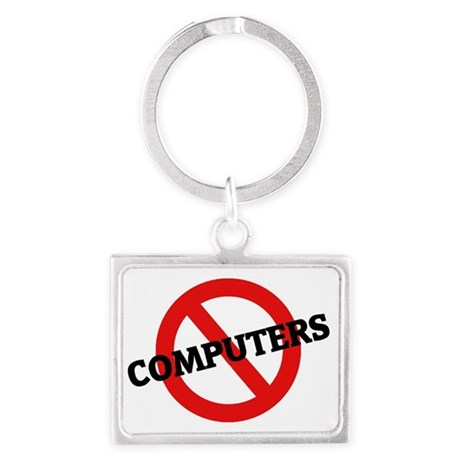 COMPUTERS4 Landscape Keychain