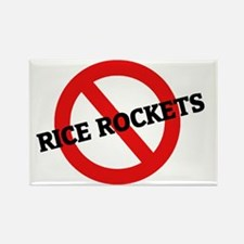 RICE ROCKETS5 Rectangle Magnet