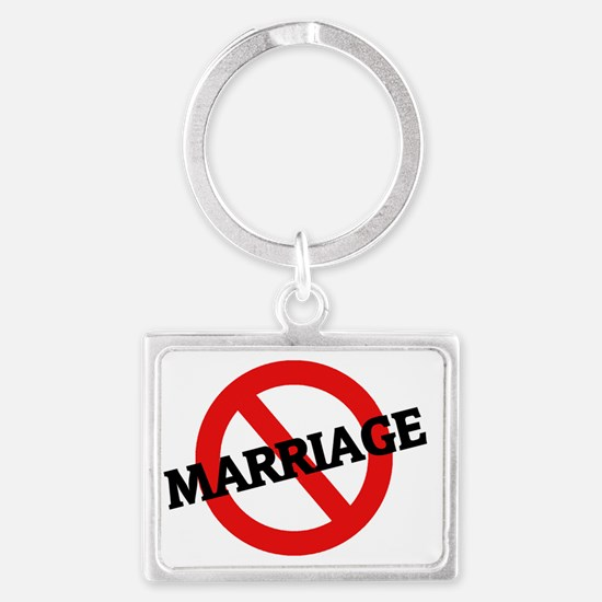 MARRIAGE14 Landscape Keychain