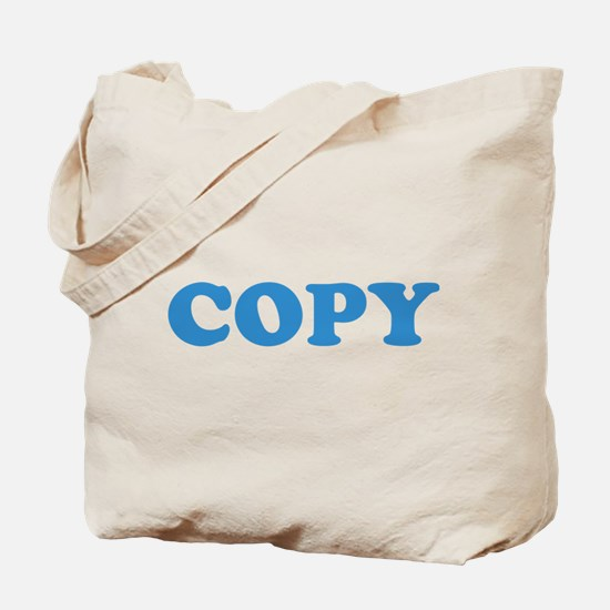 Copy Tote Bag