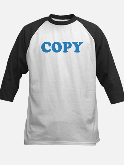Copy Kids Baseball Jersey