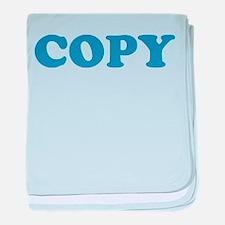 Copy baby blanket