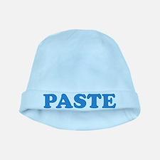 Paste baby hat