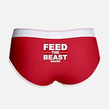 Feed The Beast Bacon Women's Boy Brief